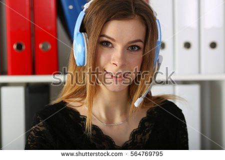 Woman Specialist Call Center Receives Order Stock Photo 564767716 ...