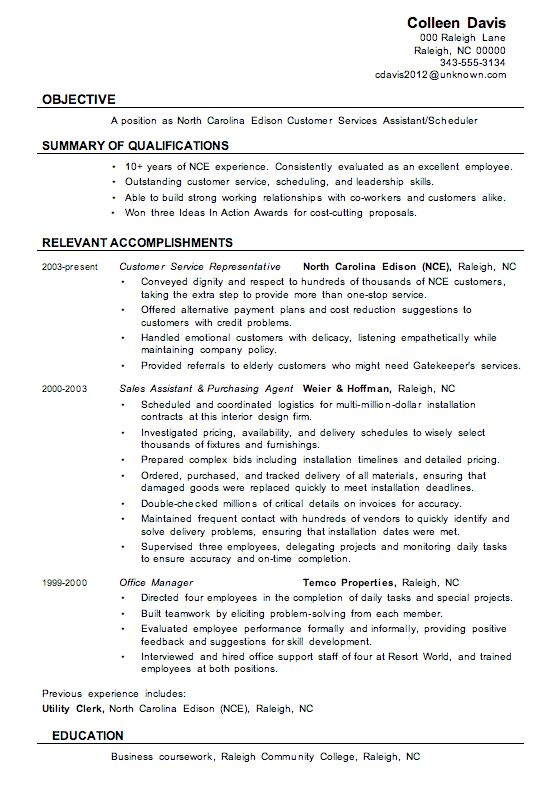 customer service resume samples writing guide. free customer ...