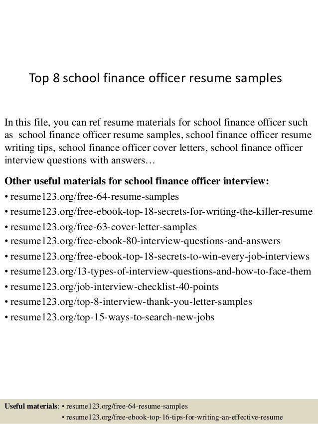 financial controller resume template premium resume samples ...