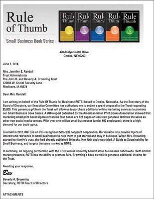 Cover Letter For Grant Application | The Letter Sample