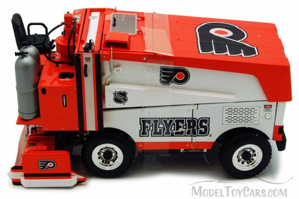 Zamboni Machine Philadelphia Flyers 95009 1/18 scale Motor City ...