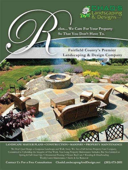 Chad's Landscaping Ad | SkyeLine Studio, LLC
