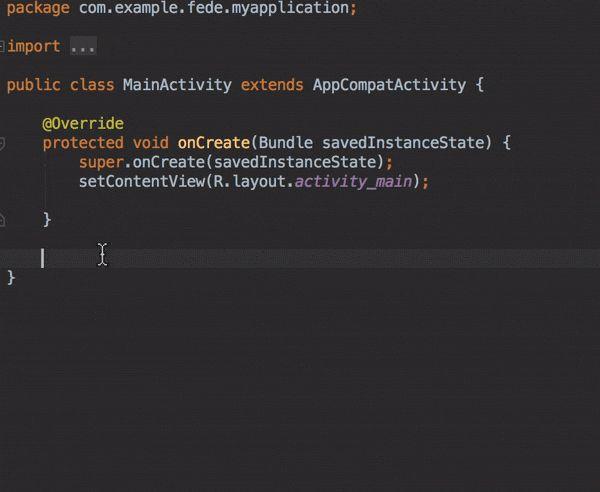 Android Studio tip 4 — Live templates – AndroidPub