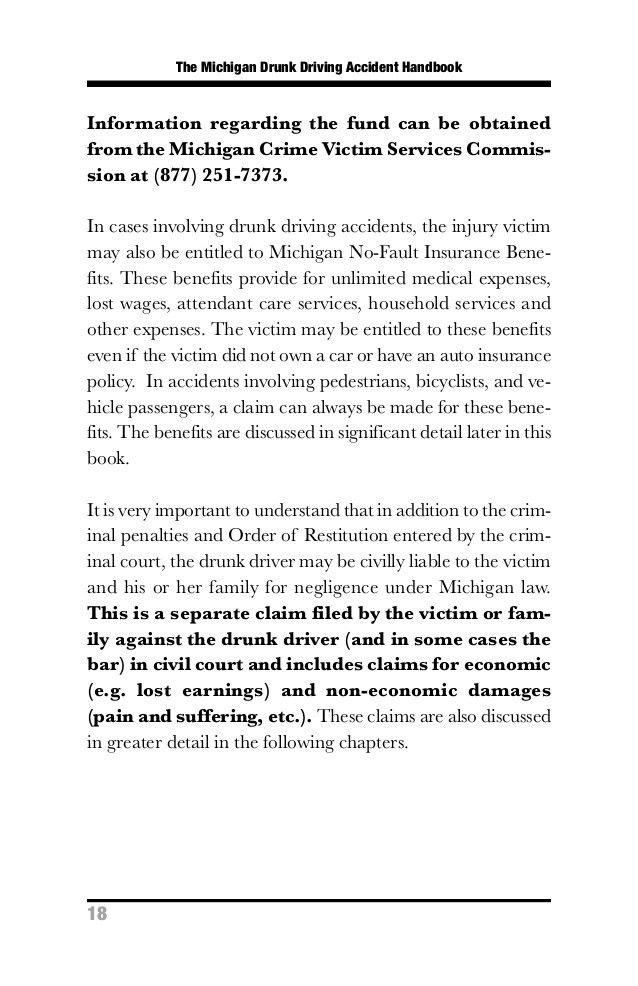 The Michigan Drunk Driving Handbook
