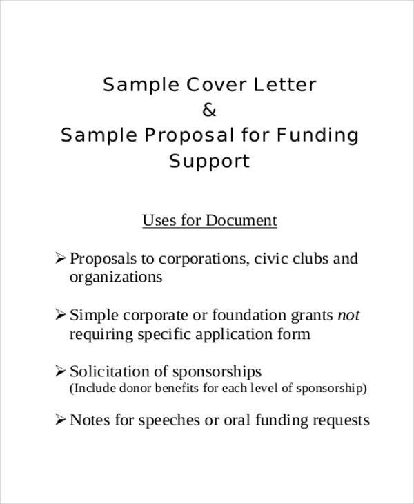 9+ Sample Project Proposal Letter - Examples in Word, PDF
