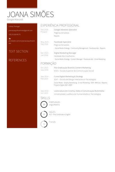 Google Resume samples - VisualCV resume samples database