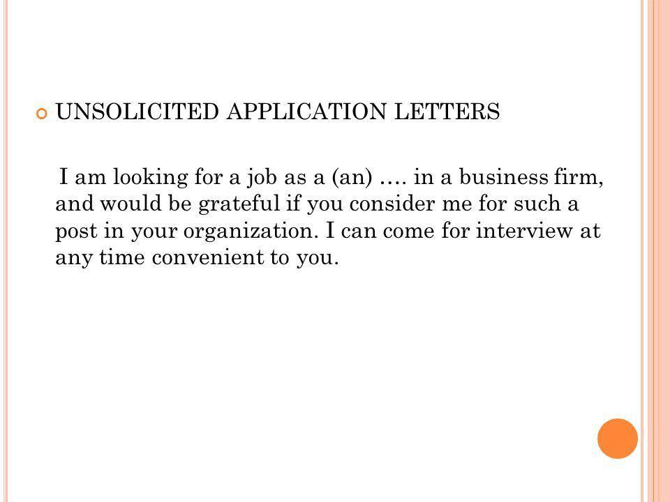 JOB APPLICATION LETTER Susantiningrum, MAB. KINDS OF JOB ...