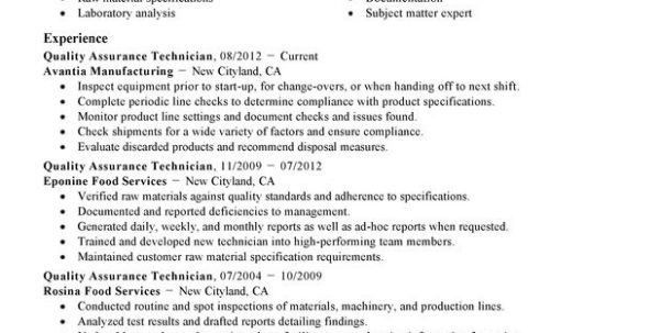15 qa resume objective. qa sample resume quality assurance resume ...