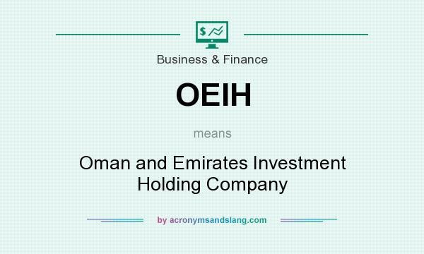 What does OEIH mean? - Definition of OEIH - OEIH stands for Oman ...