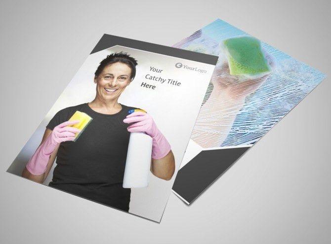 Window Cleaning Flyer Template | MyCreativeShop