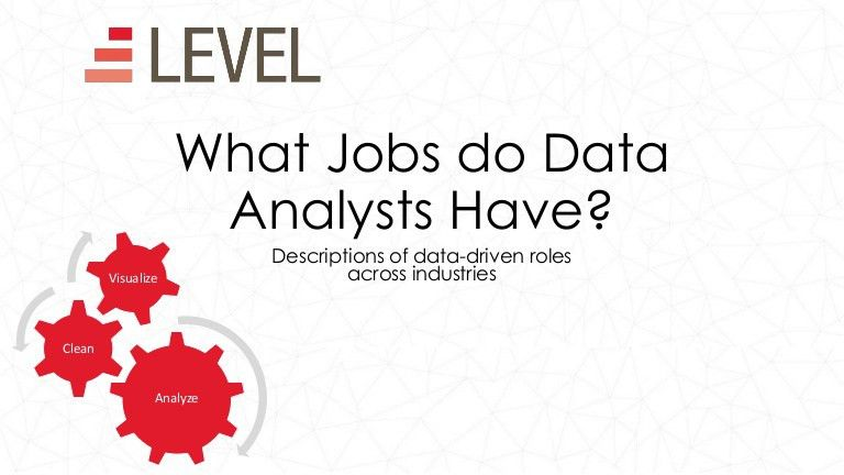 What Jobs do Data Analysts Have?