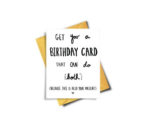 Funny Birthday Meme Printable Card Funny Best Friend by BAECKANN ...