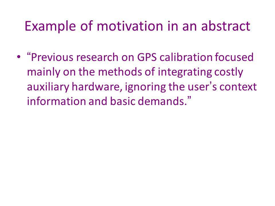 How to write an abstract - ppt download