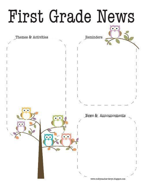 Best 25+ Owl newsletter ideas only on Pinterest | Owl classroom ...