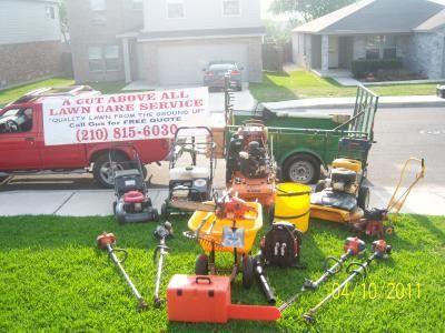 A Cut Above All Lawn Care Service - San Antonio, TX