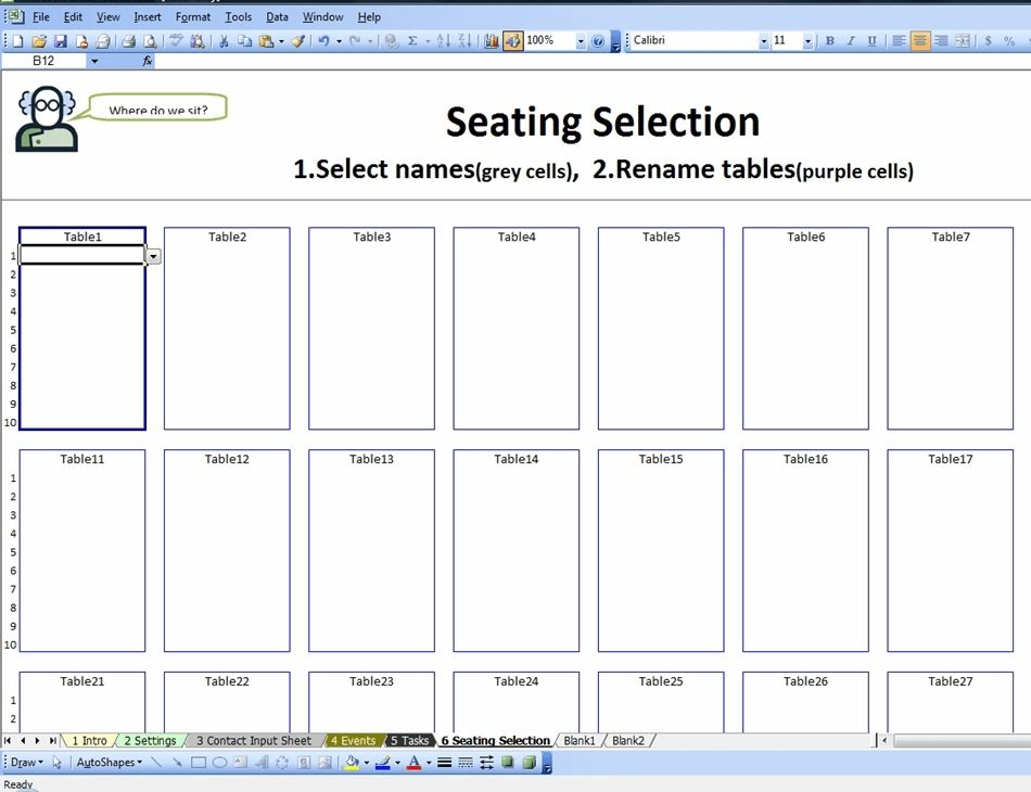 Microsoft Seating Chart Template. microsoft theater seating chart ...