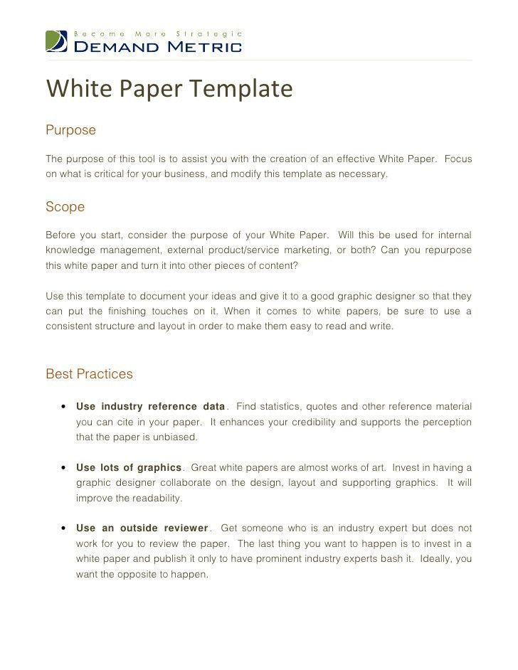 white paper template microsoft word