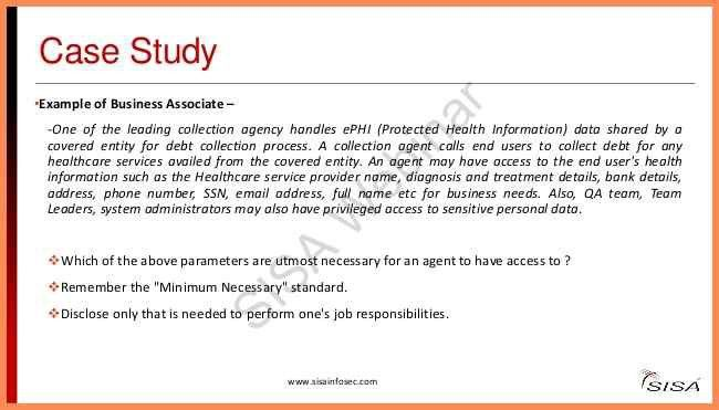 Business Case Study Examples.10 Simple Steps To Be Hipaa Compliant ...