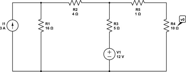 Apply Thevenin Theorem to a circuit with 2 sources? - Electrical ...