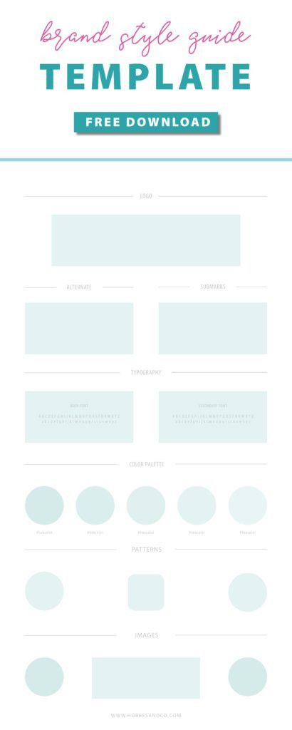 Your Brand Style Guide template awaits! Editable in Adobe ...