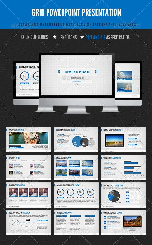 Premium Template Powerpoint - Metlic.info