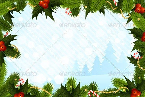 Christmas Card Template by VVaD | GraphicRiver
