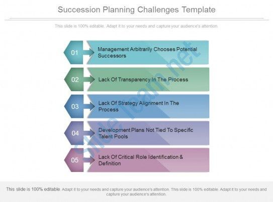 Succession Planning Challenges Template Powerpoint Slides Themes ...