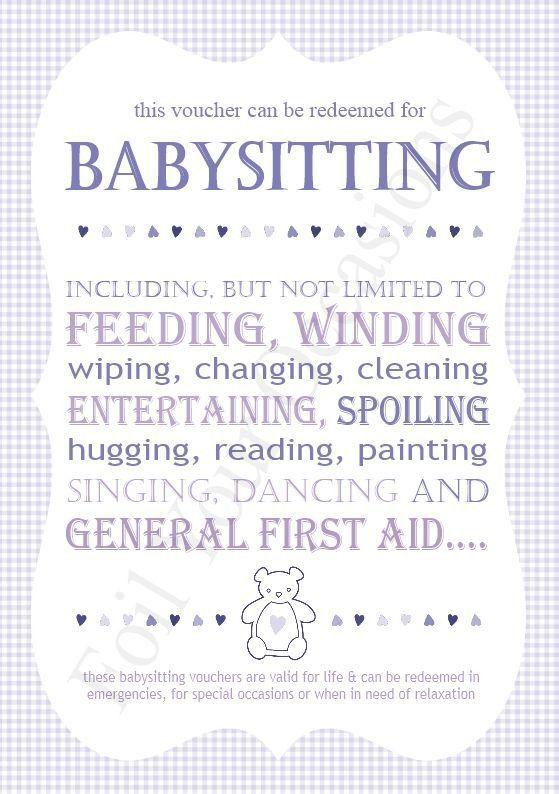 17 best babysitting images on Pinterest | Babysitting, Coupons and ...