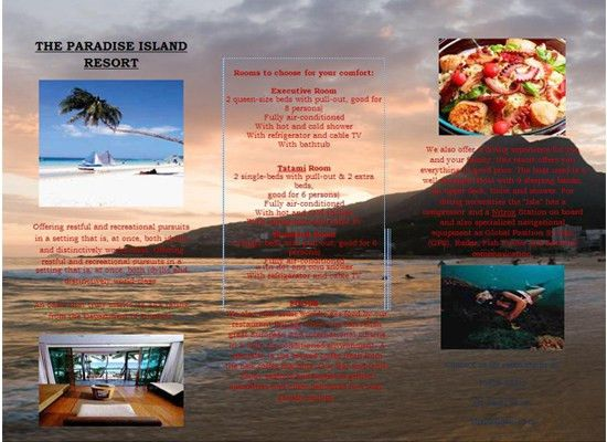 Travel Brochure Template | Brochure Templates