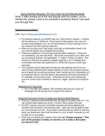 optimal resume university of toledo samples of resumes intended ...