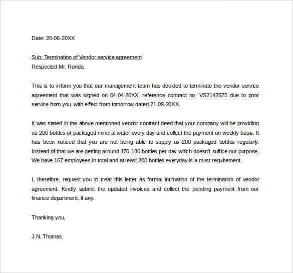 termination letter for insubordination thumb. printable sample ...