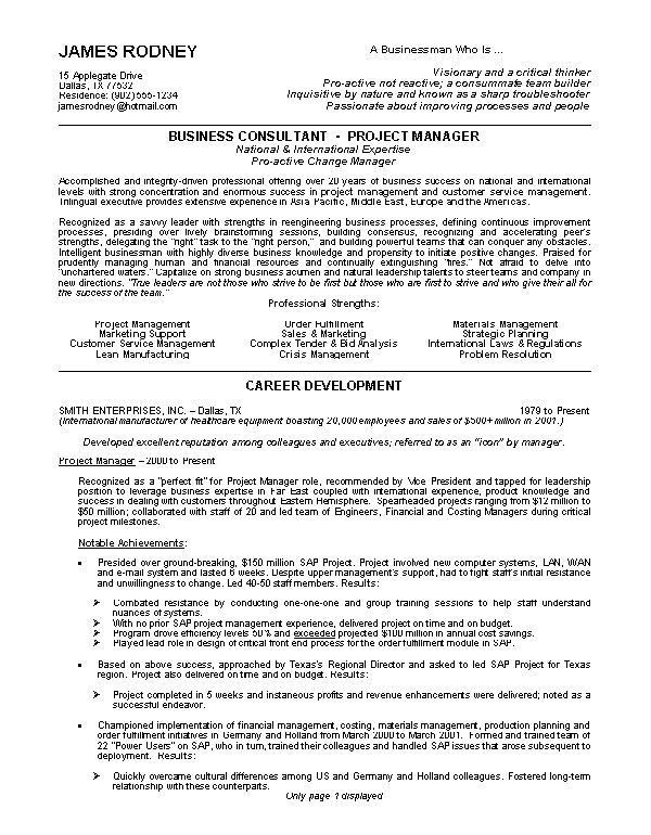 good samples of resumes resume profile examples good resume ...