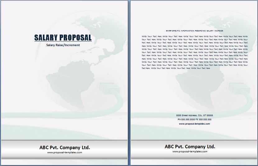Editable Printable Proposal Templates - Part 2
