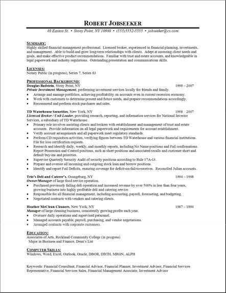 examples of a chronological resume chronological resume template