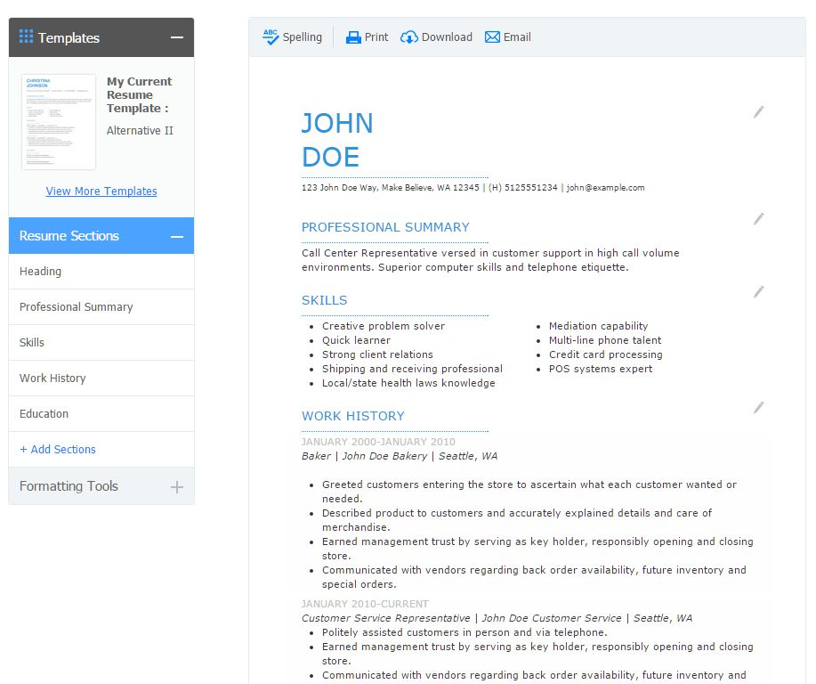 my perfect resume customer service 21 examples livecareer number