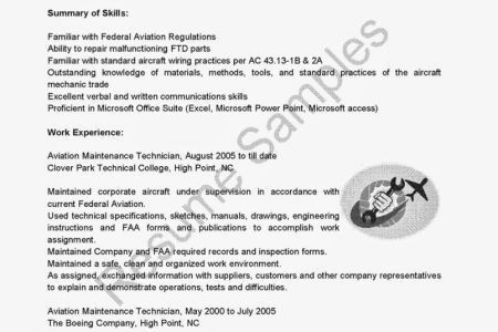 job qualifications sample air force and aviation manager resume ...