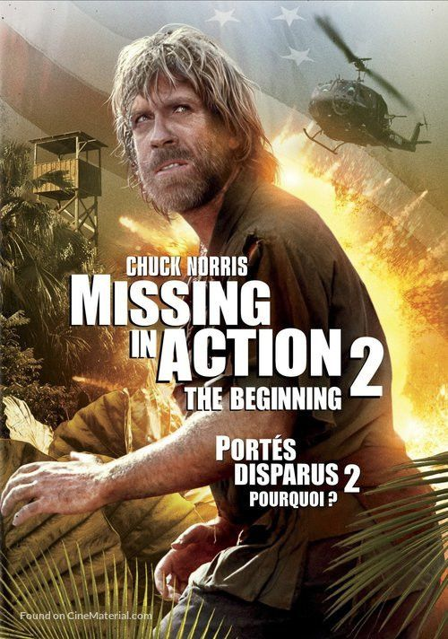 Missing in Action 2: The Beginning Canadian dvd cover