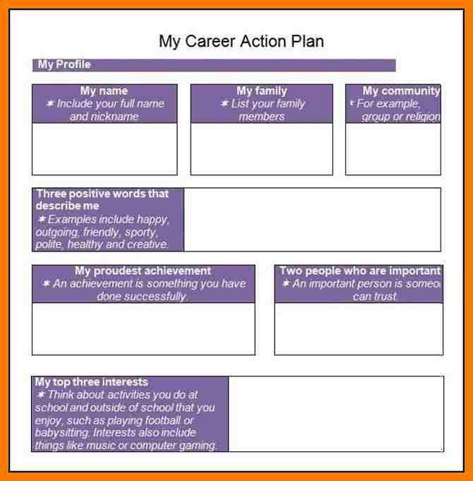 9+ career plan template word | park-attendant