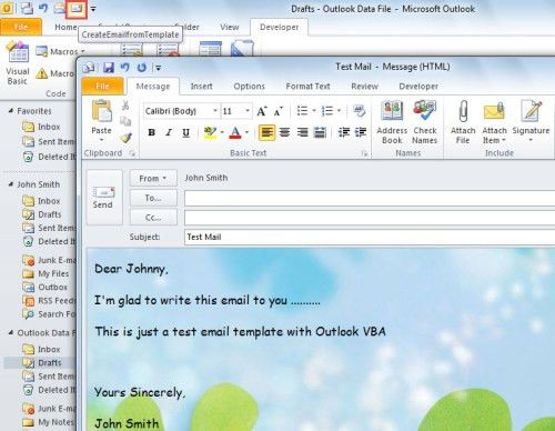 2 Quick Methods to Create New Emails from a Template with Outlook ...