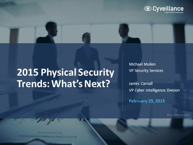 Physical Security Trends: What's Next?