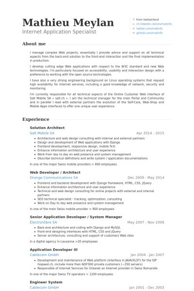 lead architect resume enterprise architect resume samples
