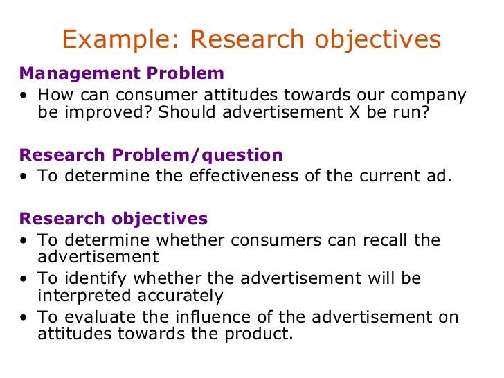 Problem definition /identification in Research