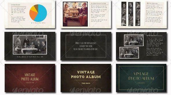 19 Vintage PowerPoint Templates – Design Freebies