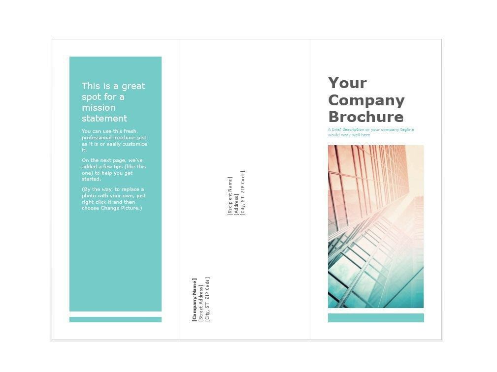 31 Free Brochure Templates (MS Word and PDF) – Free Template Downloads