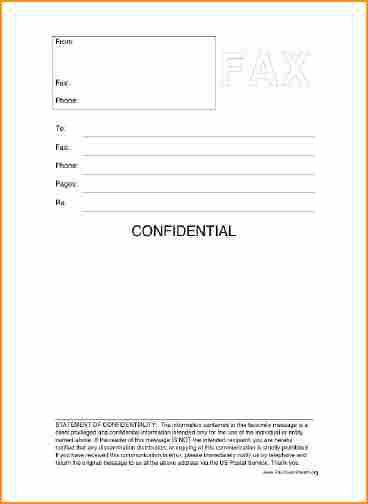 11+ printable fax cover sheet - Basic Job Appication Letter