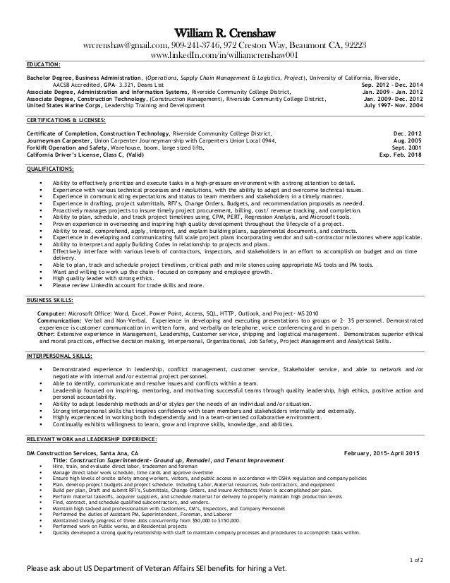 sample carpenter resume concrete s resume construction apprentice ...