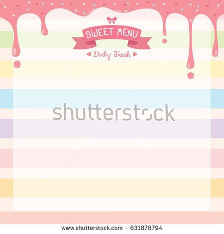 Dessert Menu Stock Images, Royalty-Free Images & Vectors ...
