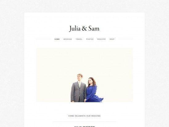 Julia Squarespace Template Analysis - Using My Head