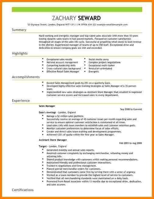 Territory Sales Manager Resume - formats.csat.co