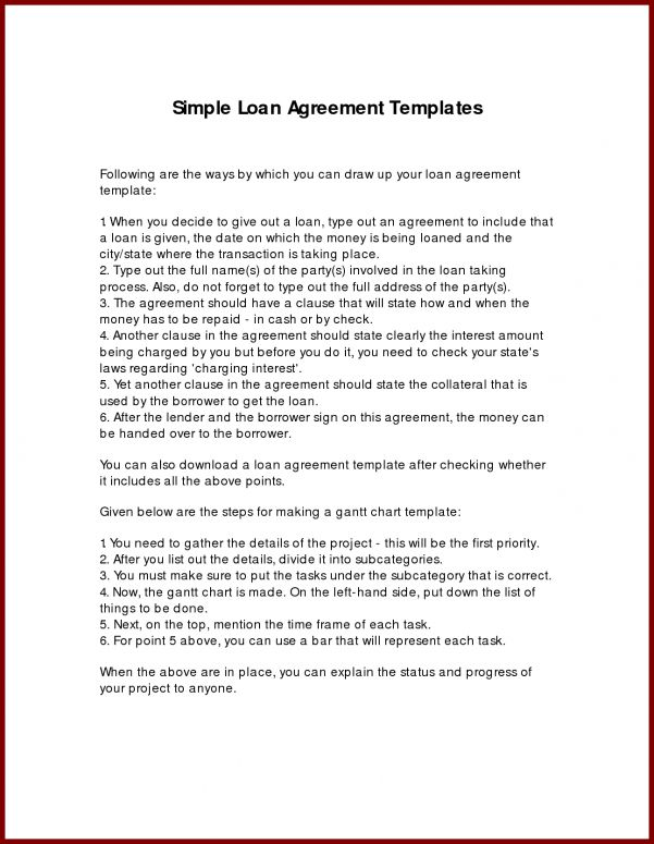 Payment Agreement Letter For Car Sample Loan Repayment Agreement ...